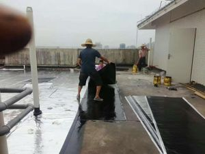 楼面卷材防水补漏